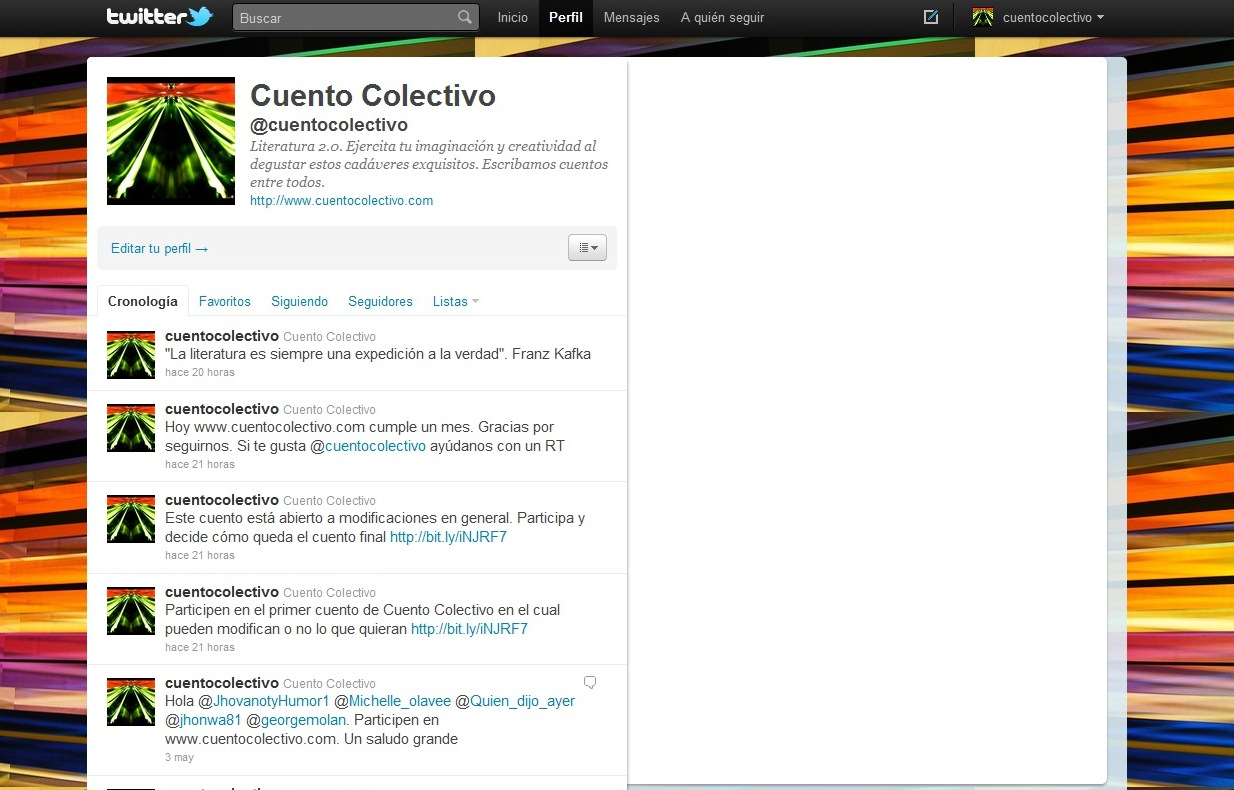 www.twitter.com/cuentocolectivo