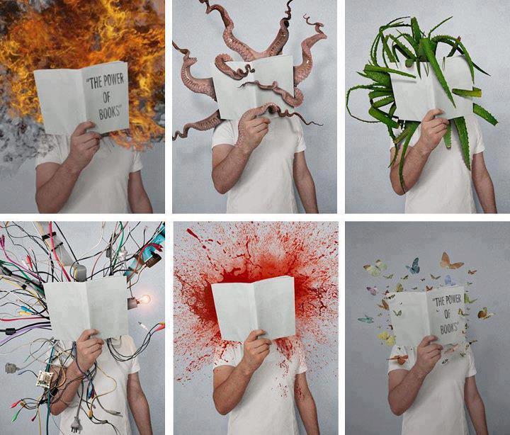 ¡El poder de los libros!